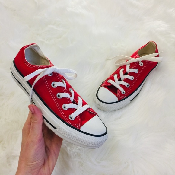 e51a4b58006d Converse Shoes - Converse Chuck Taylor All Star Red Low Ankle